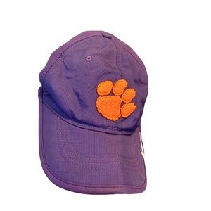 Youth Clemson Tigers purple & orange Nike hat